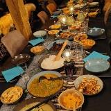 Indische Rijsttafel Sharingtable/Aanschuiftafel  ! door Lara Abbink