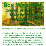 Bos Weekend met Yoga/Adem/wandeling/kamperen