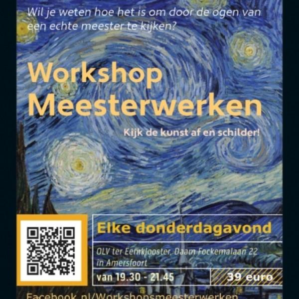 Workshop Meesterwerken: Van Gogh | Amersfoort