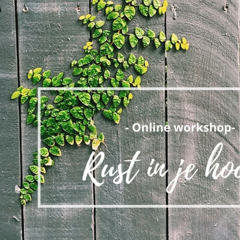 Lekker in je vel - online workshop | Online