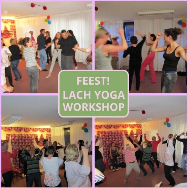 Lachyoga feestlijke workshop | Amersfoort