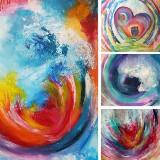 Workshop Intuïtief Schilderen | Ontdek je eigen creativiteit
