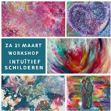 Workshop Intuïtief Schilderen (middag)