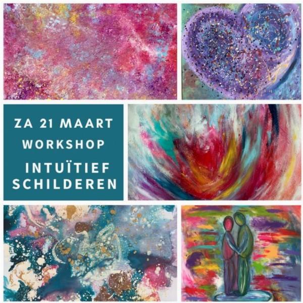 Workshop Intuïtief Schilderen (middag) | Nes aan de Amstel (amstelveen)