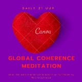 GLOBAL coherence meditation door Martina Schneider