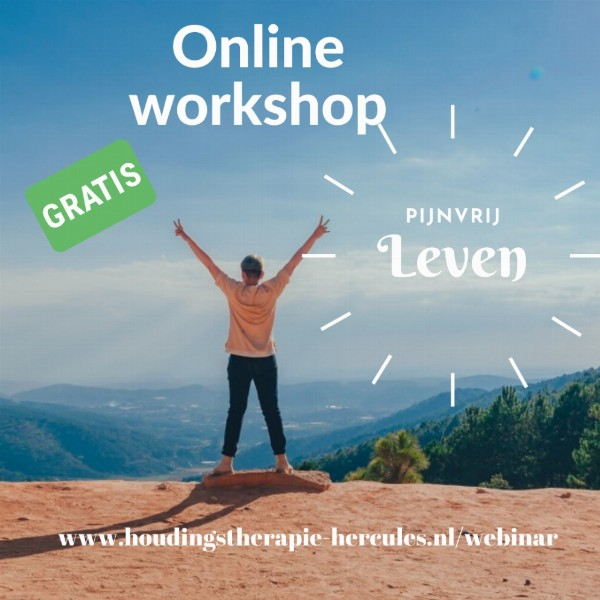 GRATIS online workshop over Een Leven Zonder Pijn | Online