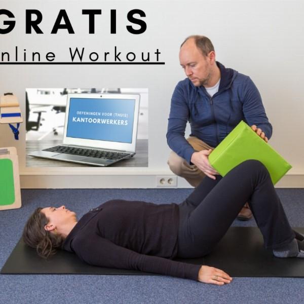 Gratis online kantoorworkout | Online