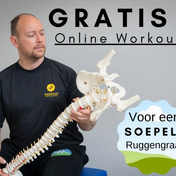 Gratis online training 'een soepele ruggengraat' | Online