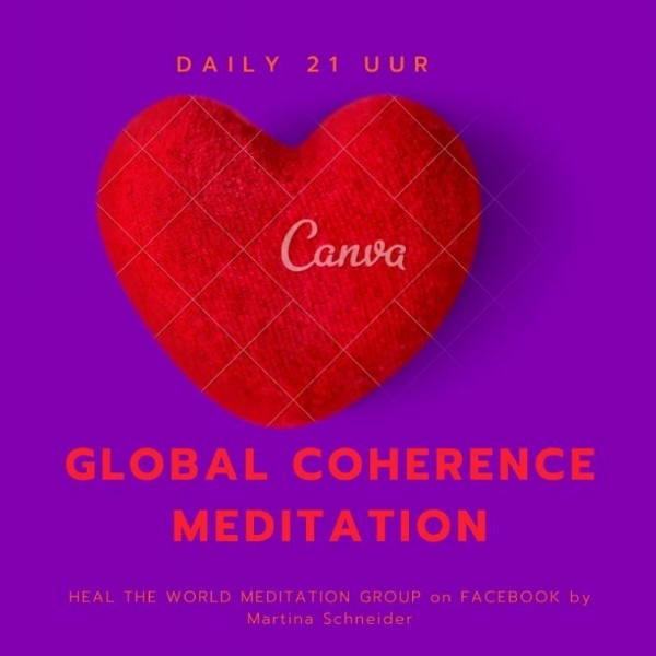 GLOBAL coherence meditation | ONLINE