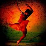 Dans je vrij op blote voeten