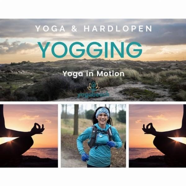Yogging, leer mindful hardlopen | Noordwijk