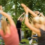Start Zomer Yoga door Marianne van Lobberegt