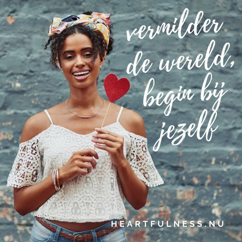 Proefles 1 | Mindful SelfCompassion (Kristin Neff) | Vermilder de wereld, begin bij jezelf | thuis, online