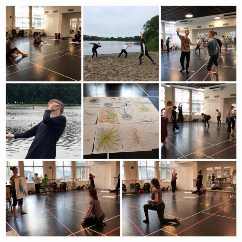 Teken je Dans en Stem - een heerlijke middag waar dans, stem en tekenen door elkaar zijn verwoven. | Delft