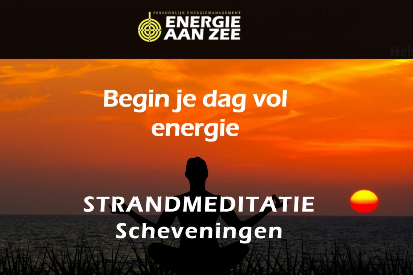 Energie aan zee - Strandmeditatie