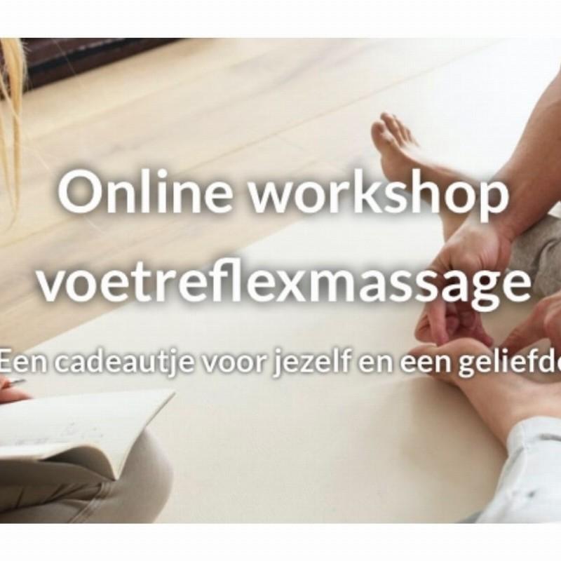 Online workshop voetreflexmassage | Den Haag