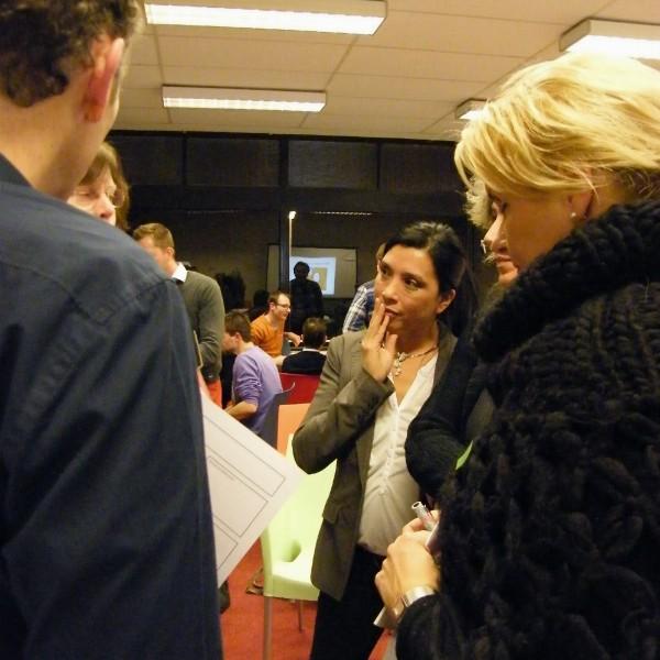 Karin Spijkerman coördinator Bewust Deventer en Tamara Ranty-Deventer