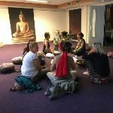 OPEN dag wy centrum voor bewust-zijn in de 'nieuwe Ruimte' door