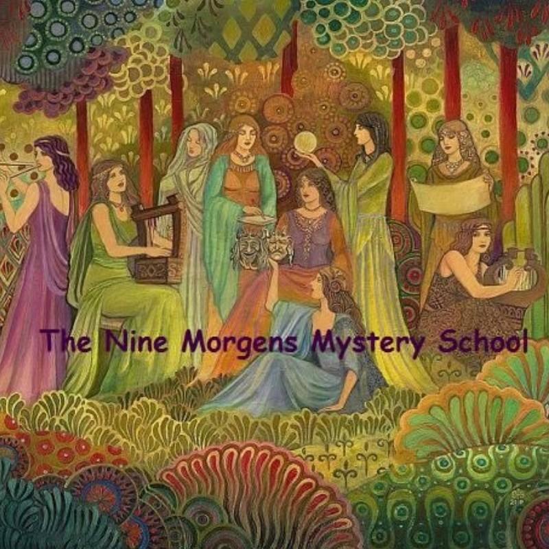 9 Nornen, 9 Fates, 9 Morgens en de Cauldron van Cerridwen  | Zoom Online