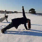 Outdooryoga door Lian Kingma