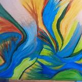 Vrij Intuïtief schilderen door Marian Coelet