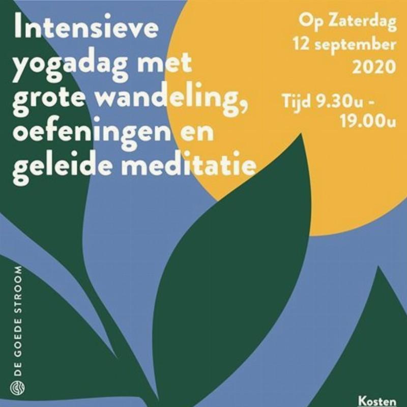 Intensieve Yogadag op zaterdag 12 september   Hamont - Achel België