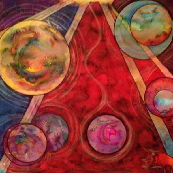 Kosmos schilderen a la Kandinsky   Beerta
