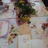 Workshop Plantenverf maken en er mee schilderen