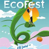 Ecofest 19 Haarlem; met live muziek en genieten van heerlijk vegetarisch eten door