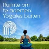 Buiten Yoga op prachtige locatie in Bloemendaal door Nienke Trap