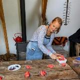 Lunch met Marlies: Met wat de tuin te geven heeft
