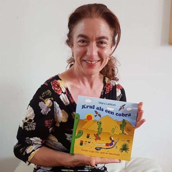 Workshop en presentatie voor kids n.a.v. het kinderyogaboek 'Krul als een cobra' | Haarlem