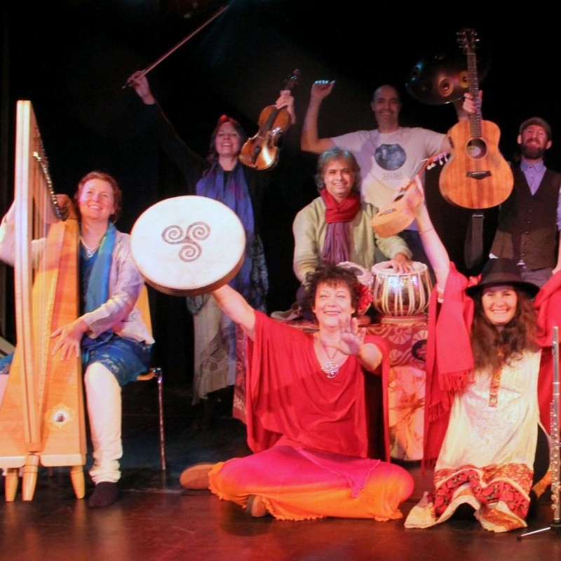 Concert: Matinee Mondiaal - Mantra's, bhajans, kirtans en sloka's (door Ashvins) | Haarlem