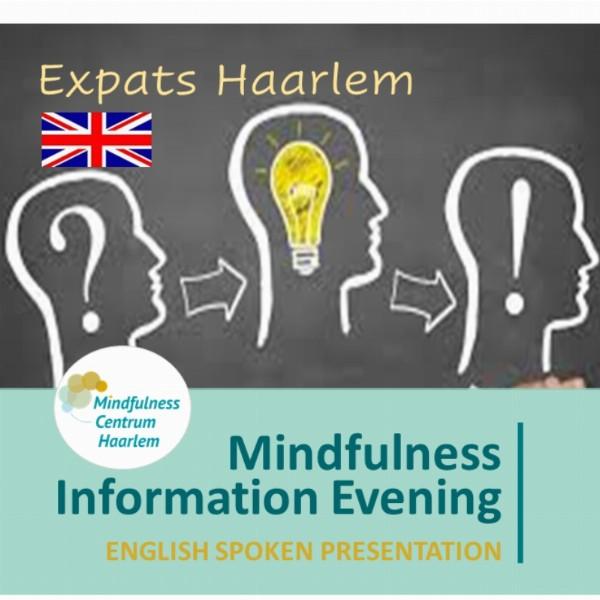 Free: English Mindfulness Information evening  | Haarlem