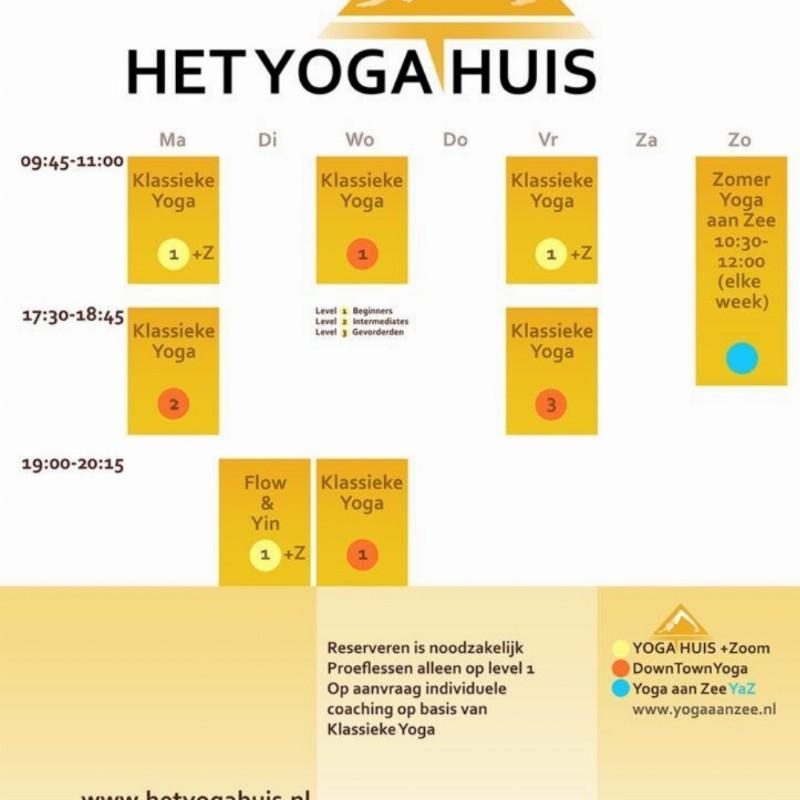 Aanbieding: 10 rittenkaart voor 10 yogalessen 60€ | Haarlem