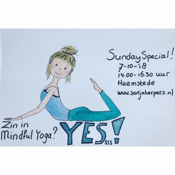 Mindfulness en Yogamiddag - Sunday Special!  | Heemstede