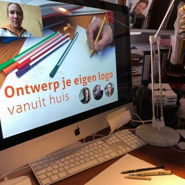 Workshop: Ontwerp je eigen logo - vanuit huis | Haarlem