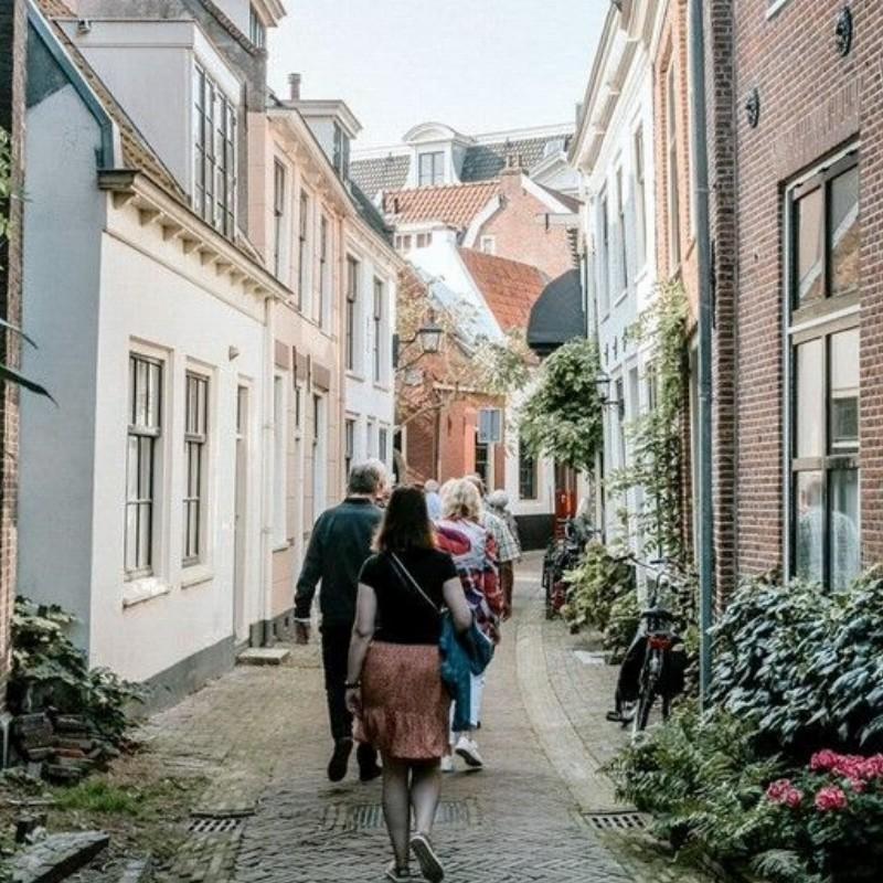 Openingsweekend van kunstproject 'De Ommegang' in de Kloostergangen | Haarlem