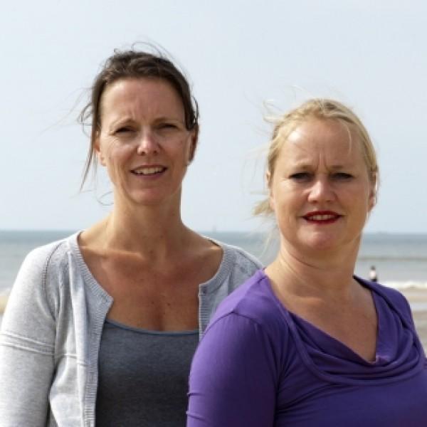 Elise Alders en Martine Klumper-Haarlem