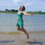 Dans retraite dagen aan de Waal door Eveline Duermeijer
