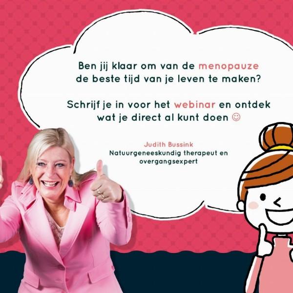 Gratis webinar speciaal voor vrouwen in de overgang | Webinar