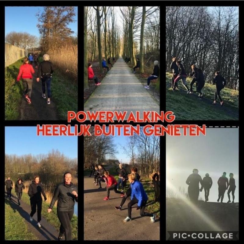 Start to Powerwalk > avond training | Poeldijk/den Haag